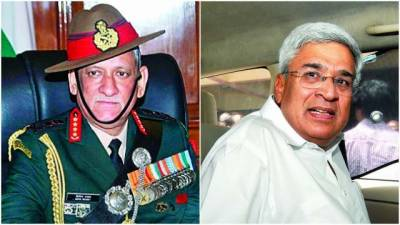 Indian Army Chief slammed by CPM