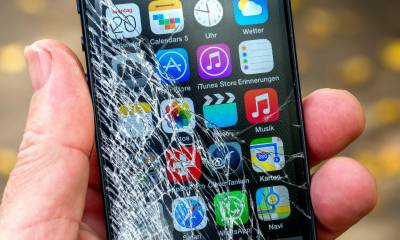 Smartphones cracked screen can be repaired now
