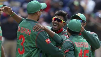 Bangladesh thrashes New Zealand in Champions Trophy thriller