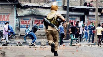 Indian Army imposes curfew in Kashmir as violent protests erupt