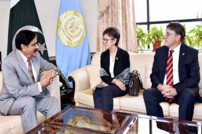 Pak NSA holds discussion with Australian-Canadian HCs over Afghanistan