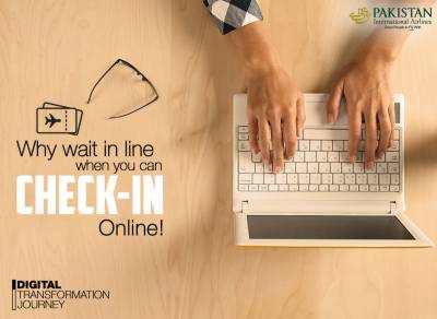 PIA Online Check in facility launched