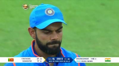 Virat Kohli blames bowlers for defeat against Sri Lanka