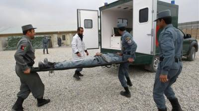 Afghan Policemen hit hard by US Airstrike