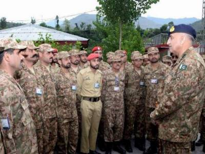Pakistan Army stands with Kashmiris in their right to self determination: COAS