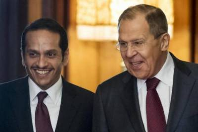 Russia-Qatar vow to make joint efforts to resolve the Gulf crisis