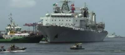 Three Chinese Naval warships dock at Karachi port for joint exercises