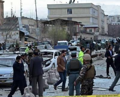 Bomb blast in Afghanistan
