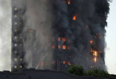 London massive fire in high rise building, Death toll rises