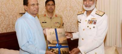 Sri Lankan President lauds Pakistan Navy maritime security efforts in the region