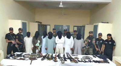 20 terrorists arrested, huge cache of weapons recovered from Punjab