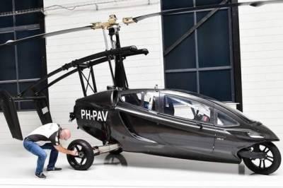 Flying car to hit skies in 2018