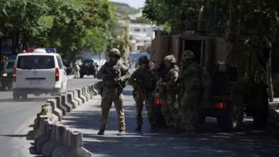 Afghan Taliban kill 6 Guards outside US Military Base