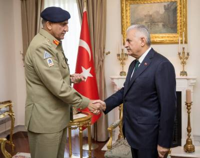 Pakistan supports Turkey in its efforts against terrorism in all hue and colour: COAS