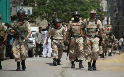 Huge cache of weapons recovered from Faisalabad