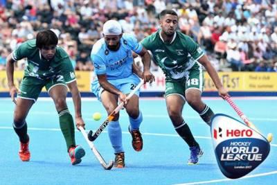 Pakistan again faces India in Hockey league