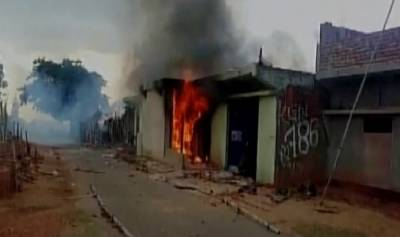 Indian Muslim severely beaten, house set on fire by mob on cow slaughter suspicion