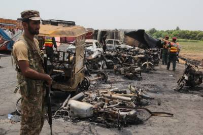 Ahmed Pur East Oil Tanker Tragedy death toll rises further