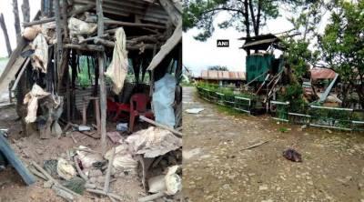 Bomb blast in Manipur, India