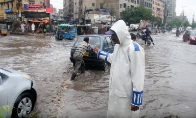 Rain plays havoc in Karachi