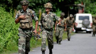 Indian Army martyrs two top Kashmiri Commanders in fake encounter