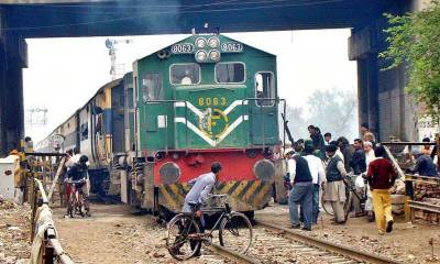 Pakistan Railways escape disaster