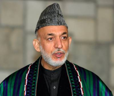 US supplying weapons to ISIS in Afghanistan: Hamid Karzai