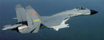 Chinese Air Force jets scramble to