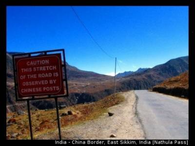 Does a road construction in China hits Indian national security, Beijing taunts India
