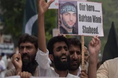 Occupied Kashmir tense as Burhan Wani martyrdom anniversary approaches