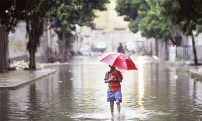 Monsoon system enters Pakistan