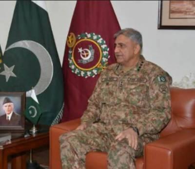 Malaysian Army Chief calls on COAS General Qamar Bajwa