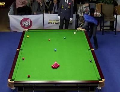 Pakistan's Naseem Akhtar wins U-18 World Snooker Championship in China