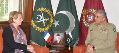 French Ambassador discusses regional security with COAS General Bajwa