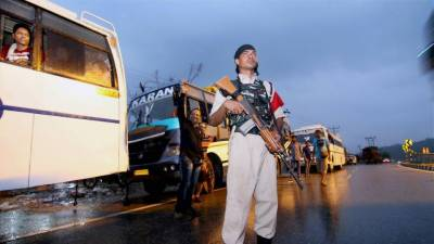 Indian home ministry blame Pakistani national behind terrorist attack on pilgrims