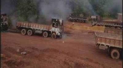 Indian Seperatist Naxals attack iron ore mine, challenging Indian state authority