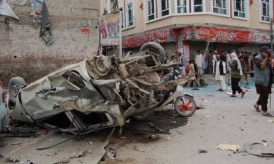 Bomb blast in Chaman at FC Check post