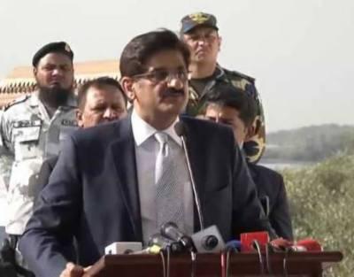 CM Murad Ali Shah inaugurates Thar Airport at Islamkot