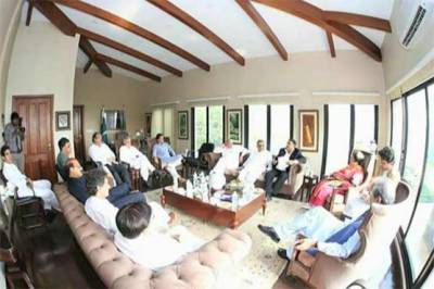 Imran Khan holds important consultative session in Bani gala today