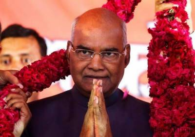 Indian Parliament elects Ram Nath Kovind as new President