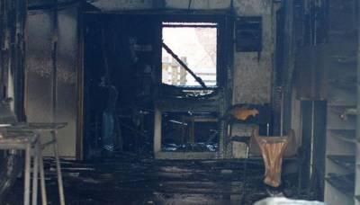 Mosque in Manchester damaged in arson attack