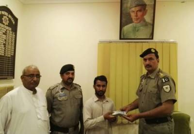 Pakistan Motorways Police sets another example of honesty and professionalism