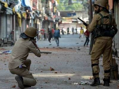Indian Army using chemical weapons in occupied Kashmir