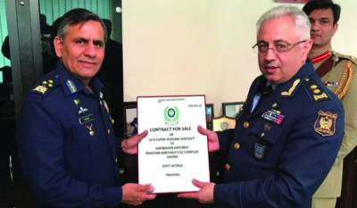 Pakistan signs export order for 10 training Aircrafts with Azerbaijan