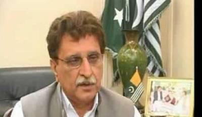 AJK PM Farooq Haider to sue Jang group over fake news
