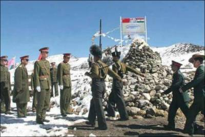 Chinese Army cross Indian border, enters Indian territory