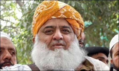 JUI-F Chief backs PML-N candidate Shahid Khaqan Abbasi