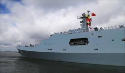 China officially opens first overseas naval base
