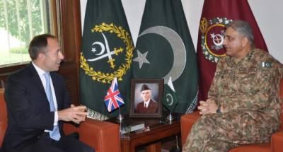 British HC calls on COAS General Qamar Bajwa