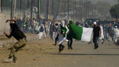 India threatening Kashmiris not to observe Indian independence day as Black day